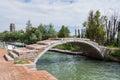 Devil's Bridge at Torcello, Venice Royalty Free Stock Photo