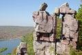 Devil's Lake State Park, Wisconsin Royalty Free Stock Photo