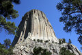 Devil's Tower South Dakota Royalty Free Stock Photo
