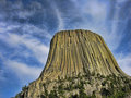 Devil's Tower, Wyoming Royalty Free Stock Image