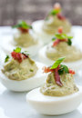 Deviled Eggs Stock Photos