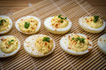 Deviled Eggs Chives