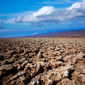 Devils golf course death valley salt clay formations national park california Stock Images