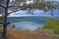 Devils Lake Royalty Free Stock Photo