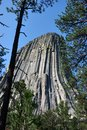 Devils Tower in Wyoming, USA Royalty Free Stock Photo