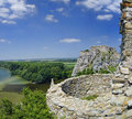 The Devin castle