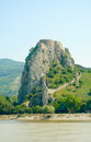 Devin castle. General view from Danube