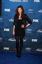 Devin kelly los angeles arrives at the american idol season finalists party at the grove on march in los angeles ca Royalty Free Stock Photography