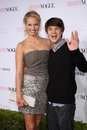Devon Workheiser, Molly McCook arrives at the 8th Teen Vogue Young Hollywood Party - Red Carpet Stock Image
