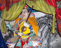 Dharmapala protector of dharma buddhist temple in beijing china is a type wrathful deity the name means Stock Images