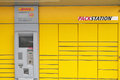 Dhl packstation package station in germany Stock Photo
