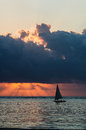 Dhow Sailing Boat Royalty Free Stock Photo