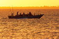 Dhow traditional fishing craft vessel Royalty Free Stock Photo