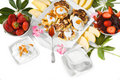 Diätfrühstück Lizenzfreies Stockfoto