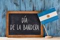 Dia de la Bandera, Flag Day of Argentina Royalty Free Stock Photo