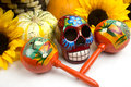 Dia De Los Muertos - Day of The Dead Alter Royalty Free Stock Images