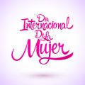 Dia internacional de la Mujer, Spanish translation: International womens day