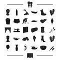 Diabetes, agriculture, transport and other web icon in black style.atelier, shoes, wedding, food icons in set collection