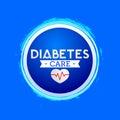 Diabetes Care vector icon design