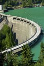Diablo Dam Royalty Free Stock Photo