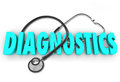 DIagnostics Health Care Diagnose Stethoscope Doctor Treatment Stock Photos