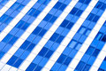 Diagonal Abstract crop of modern office Stock Images