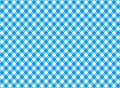 Diagonal blue tablecloth seamless pattern Royalty Free Stock Photo