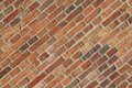 Diagonal bricks Stock Images