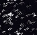 Diagonal checkerboard pattern wallpaper black and white color background Stock Image