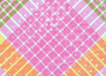 Diagonal plaid background Royalty Free Stock Photo