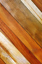 Diagonal planks background photo of wooden wall Stock Image