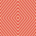 Diagonal striped red white pattern abstract repeat straight lines texture background vector illustration Royalty Free Stock Photo