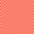 Diagonal striped red white pattern abstract repeat straight lines texture background vector illustration Royalty Free Stock Images