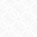 Diagonal white wavy lines and pointy squares pattern abstract d seamless background with cut out of paper effect Stock Images