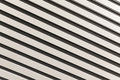Diagonally downward with black and white stripes lines abstract shadows lines Royalty Free Stock Photo