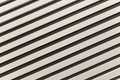 Diagonally upward with black and white stripes lines abstract shadows lines Royalty Free Stock Photography