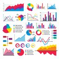 Diagram chart graph elements vector business infographic flow sheet diagram data template