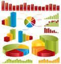 Diagrams, statistics Stock Image