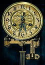 Dial of ancient hours Royalty Free Stock Photography