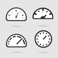 Dial panel the eps file format Royalty Free Stock Photo