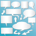 Dialog Balloons Royalty Free Stock Photo