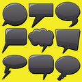 Dialog Bubbles Royalty Free Stock Images