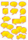 Dialog Speech Bubbles Royalty Free Stock Image