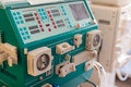 Dialysis machine Royalty Free Stock Photo