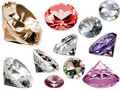 Diamants Photographie stock libre de droits