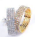Diamond Bangles Stock Photos