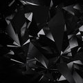 Diamond black background Stock Photo