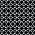 Diamond black effect seamless pattern