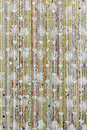 Diamond curtain Royalty Free Stock Images