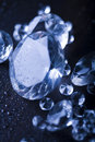 Diamond - expensive stone Royalty Free Stock Photos